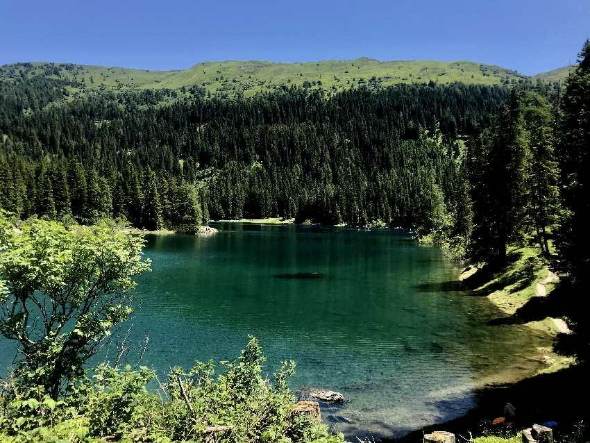 Obernberger See Tirol - wunderscbön ist der Bergsee an der Grenze zu Südtirol