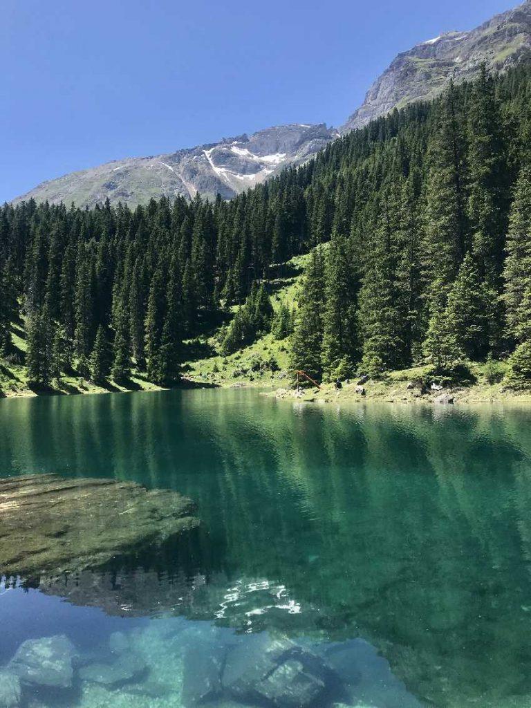 Obernberger See Umrundung - einmal rund um den ganzen See wandern