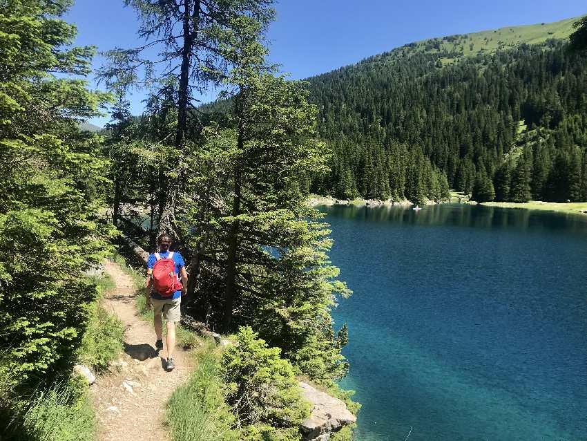 Obernberger See wandern