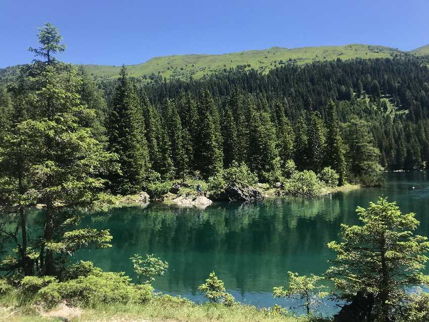 Das ist Tirol! Viele tolle Buchten am Obernberger See