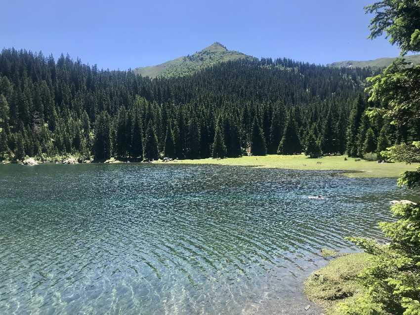 Wipptal ist mehr als nur der Brenner - hier der idyllische Obernberger See