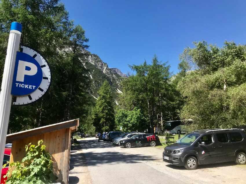 Obernberger See parken - bis hierhin geht die Obernberger See Anfahrt mit Auto oder Bus