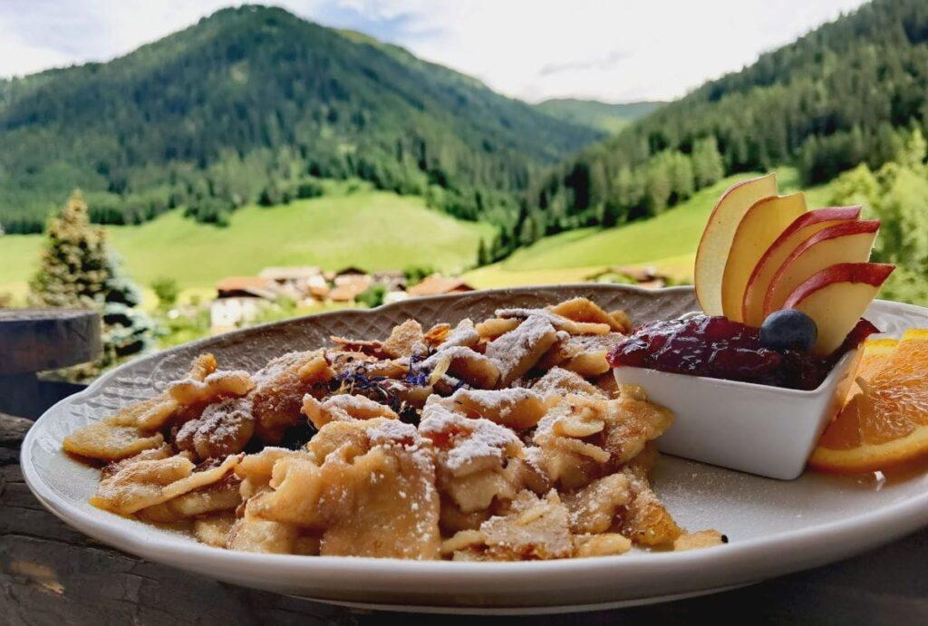 Spitzenmäßig: Der Kaiserschmarrn in Almi´s Berghotel im Obernbergtal