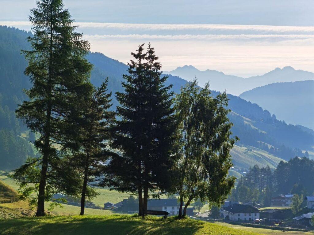 Obernberg am Brenner - umgeben von Bergen
