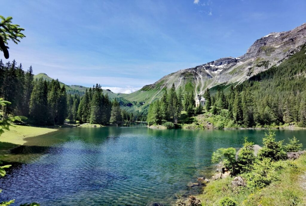Obernberg am Brenner wandern - einmal rund um den Obernberger See